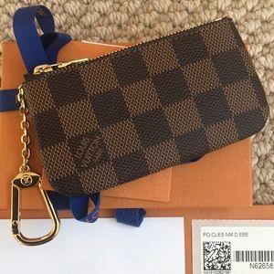 💯Authentic Louis Vuitton Cles Key Pouch